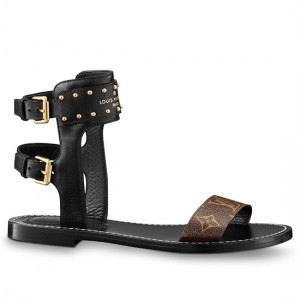 Louis Vuitton Nomad Sandals Monogram Canvas