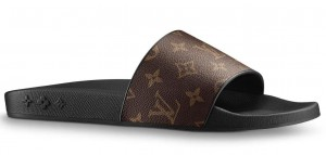 Louis Vuitton Waterfront Mules In Monogram Canvas