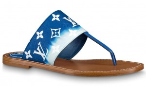 Louis Vuitton LV Escale Palma Flat Thong Blue