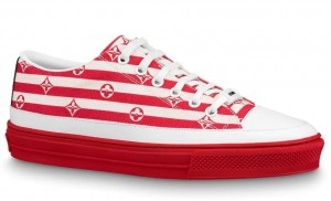 Louis Vuitton LV Escale Stellar Sneakers Red