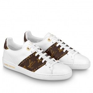 Louis Vuitton Women's Frontrow Sneakers With Studs