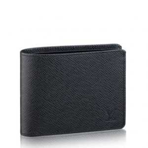 Louis Vuitton Multiple Wallet Taiga Leather M30952