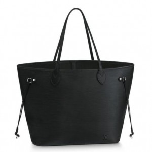 Louis Vuitton Neverfull MM Bag In Black Epi Leather M40932
