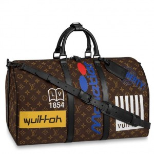 Louis Vuitton Keepall Bandouliere 50 Monogram M44642