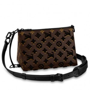 Louis Vuitton Triangle Messenger Monogram Tuffetage M45070