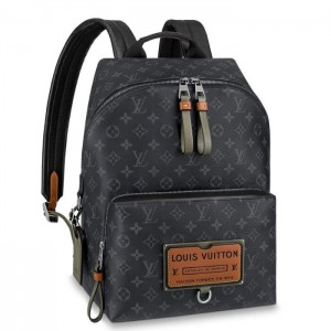 Louis Vuitton Discovery Backpack Monogram Eclipse M45218
