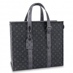 Louis Vuitton New Cabas Zippe GM Monogram Eclipse M45379
