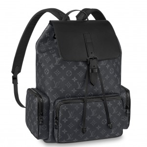 Louis Vuitton Backpack Trio Monogram Eclipse M45538
