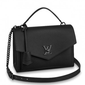 Louis Vuitton All Black MyLockme Bag M55816