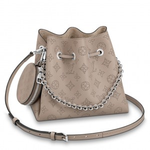 Louis Vuitton Bella Bag In Galet Mahina Leather M57201