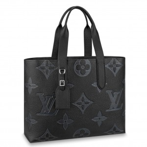 Louis Vuitton Cabas Voyage Tote Taurillon Shadow M57290