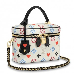 Louis Vuitton Game On Vanity PM White Bag