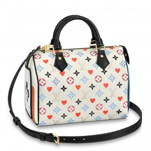 Louis Vuitton Game On Speedy Bandouliere 25 Bag M57466