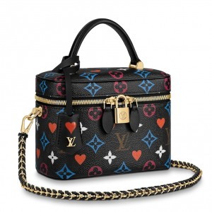 Louis Vuitton Game On Vanity PM Black Bag M57482