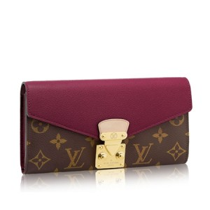 Louis Vuitton Pallas Wallet Monogram Canvas M58413