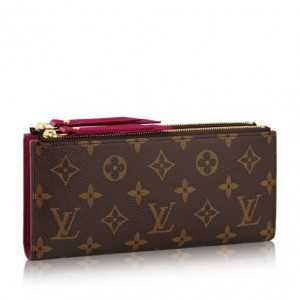 Louis Vuitton Adele Wallet Monogram Canvas M61269