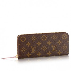 Louis Vuitton Clemence Wallet Monoram Canvas M61298