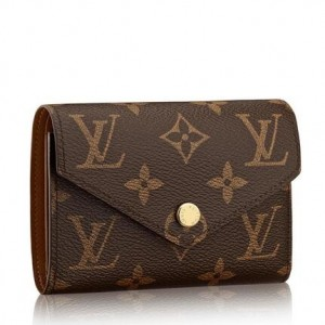 Louis Vuitton Victorine Wallet Monogram Canvas M62472