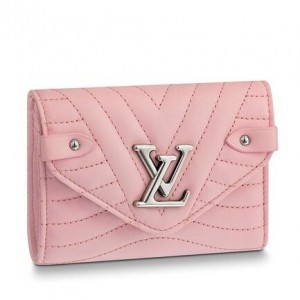 Louis Vuitton Pink New Wave Compact Wallet M63730