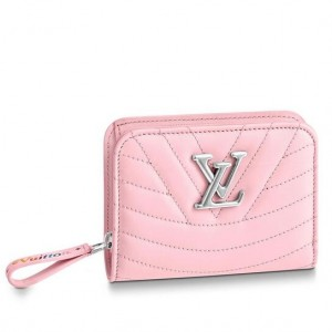 Louis Vuitton Pink New Wave Zipped Compact Wallet M63791