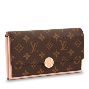 Louis Vuitton Flore Wallet Monogram Canvas M64586