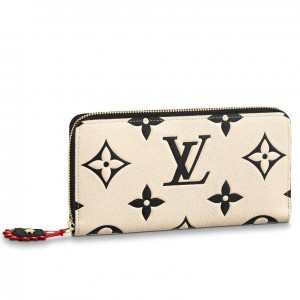 Louis Vuitton LV Crafty Zippy Wallet M69727