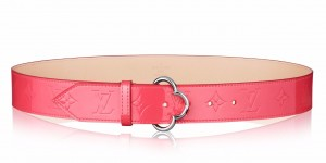 Louis Vuitton Flower Belt Monogram Vernis M9034W
