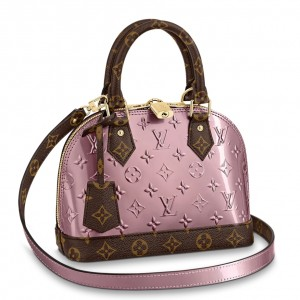 Louis Vuitton Alma BB Bag Monogram Vernis M90583