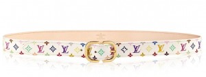 Louis Vuitton Mini 25MM Belt Monogram Multicolor M9585W