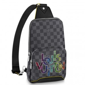 Louis Vuitton Avenue Sling Bag Damier Graphite N40273
