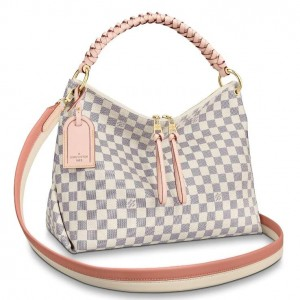 Louis Vuitton Beaubourg Hobo MM Bag Damier Azur N40343