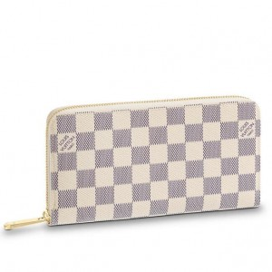 Louis Vuitton Zippy Wallet Damier Azur Canvas N41660