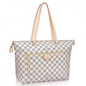 Louis Vuitton Iena MM Bag Damier Azur N44040
