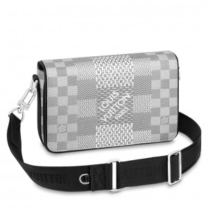Louis Vuitton Studio Messenger Damier Graphite N50014