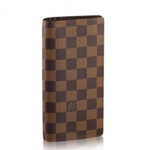 Louis Vuitton Brazza Wallet Damier Ebene N60017