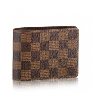 Louis Vuitton Multiple Wallet Damier Ebene N60895