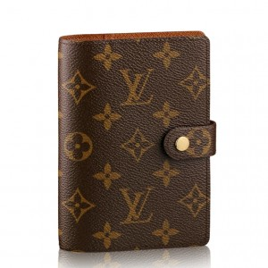 Louis Vuitton Small Ring Agenda Cover Monogram R20005