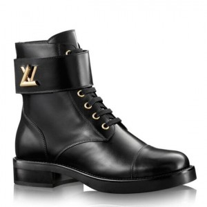 Louis Vuitton Black Wonderland Ranger Boot