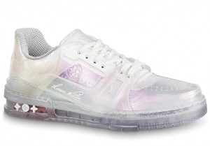 Louis Vuitton LV Trainer Sneakers In Transparent Material