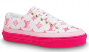 Louis Vuitton Rose Pop Stellar Sneakers