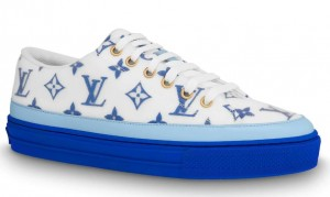 Louis Vuitton Blue Stellar Sneakers