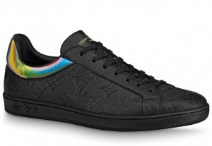 Louis Vuitton Luxembourg Sneakers In Black Monogram Leather