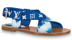 Louis Vuitton LV Escale Palma Flat Sandals Blue