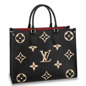 Louis Vuitton Onthego MM Bag Monogram Empreinte M45495