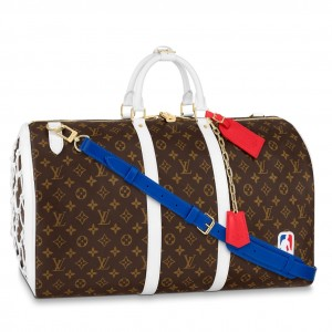 Louis Vuitton LV x NBA Basketball Keepall 55 M45587