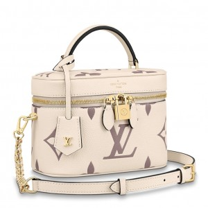 Louis Vuitton Vanity PM Bicolor Monogram Empreinte M45599