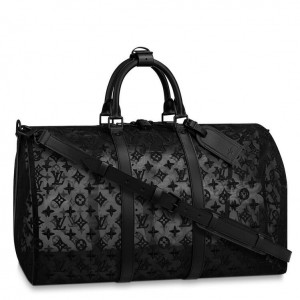 Louis Vuitton Keepall Bandouliere 50 Mesh Monogram M53971