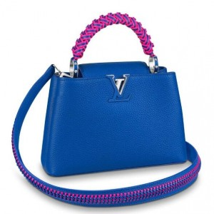Louis Vuitton Capucines BB Bag With Braided Handle M55236