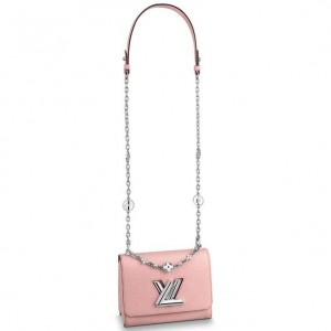 Louis Vuitton Twist PM Bag With Flower Jewels M55531