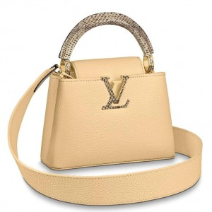 Louis Vuitton Capucines Mini With Ayers Snakeskin Handle M55923